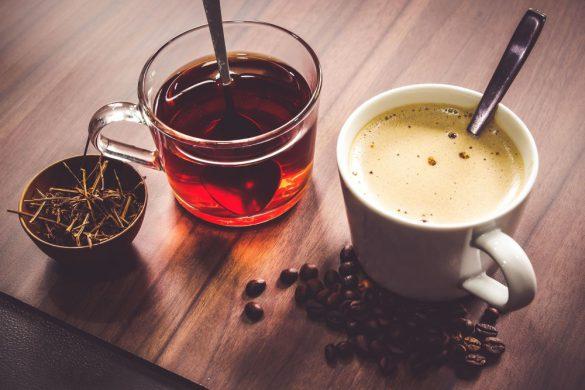 مقایسه قهوه و چای