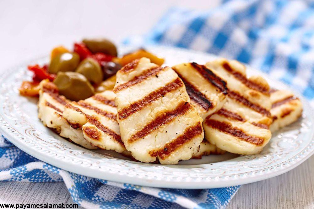 پنیر هالومی ؛ خواص و ارزش غذایی این پنیر کبابی بی نظیر و غنی از پروتئین