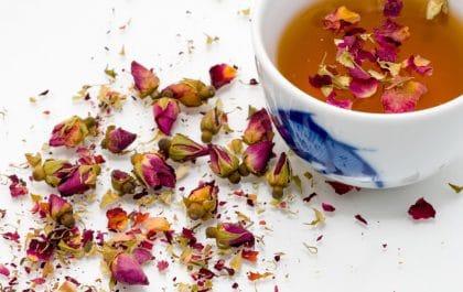 چای گل رز