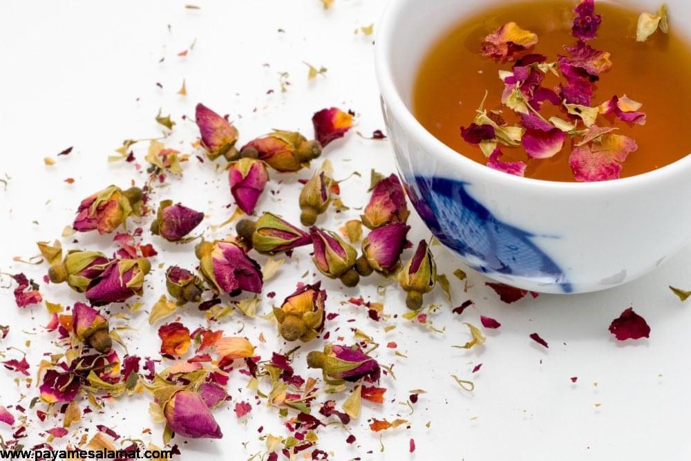 خواص و کاربردهای مهم چای گل رز
