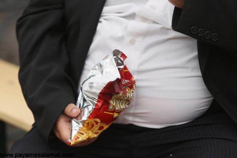 علت افزایش وزن و چاقی