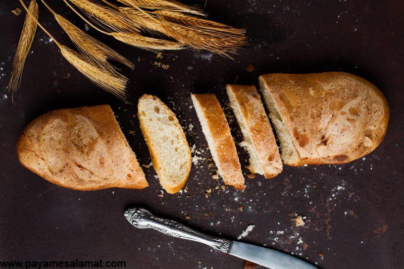 خواص نان