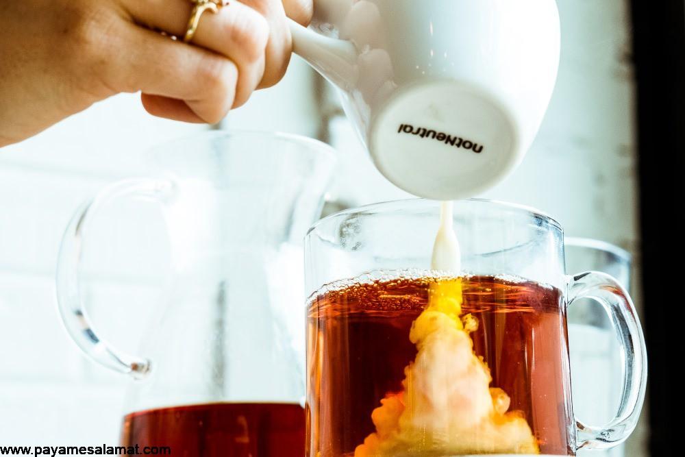 فواید نوشیدن چای با شیر چیست؟