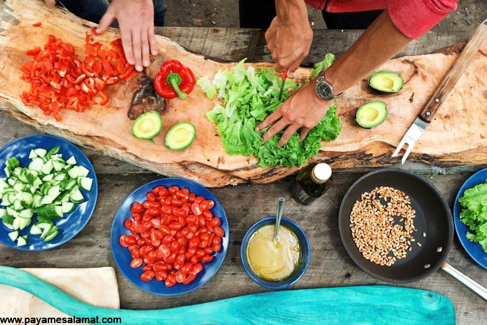 کاهو پیچ یا کاهو چینی ؛ از خواص تا ارزش غذایی
