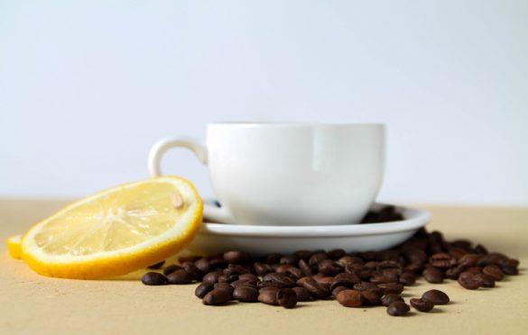 قهوه با لیمو