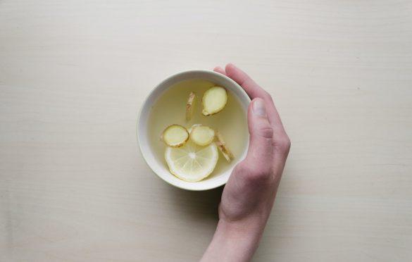 دستور تهیه چای زنجبیل و لیمو
