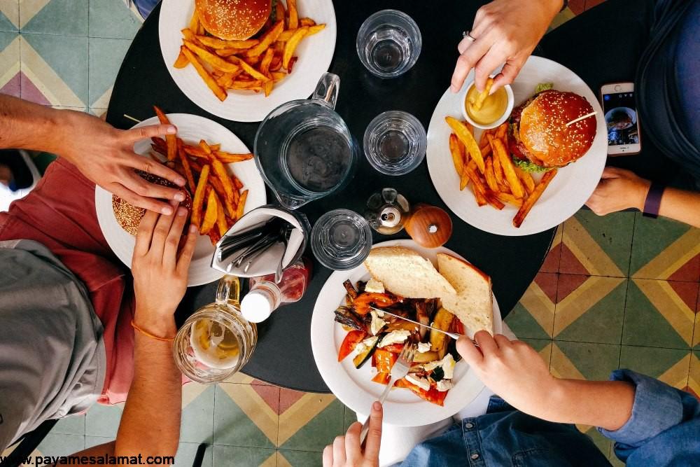 اثرات مضر پرخوری بر روی بدن
